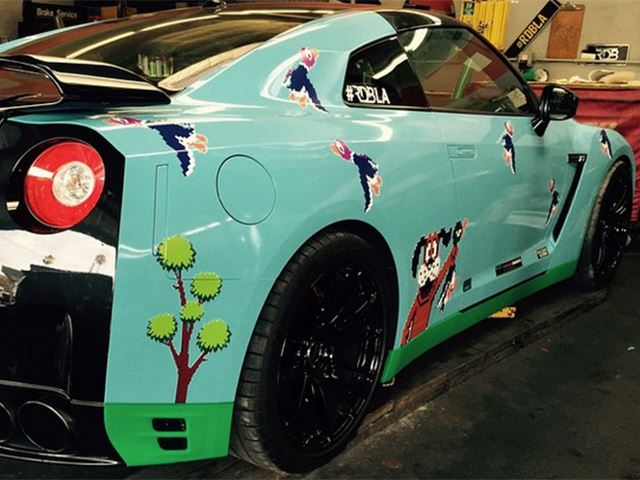 "Is This Nissan GT-R's ""Duck Hunt"" Wrap Cool or a Catastrophe?"