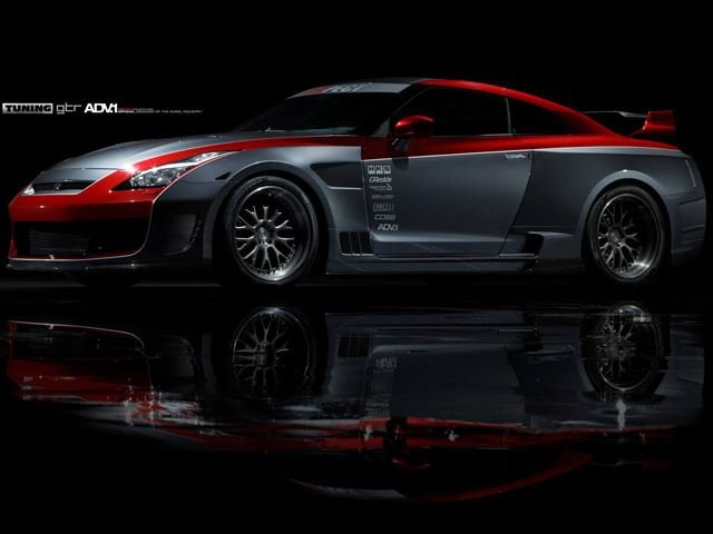 Nissan GT-R Looking Deadly with ADV.1 Alloys and Monster Body Kit
