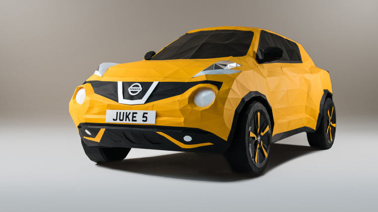 Nissan Juke Turns 5, Celebrates With Origami