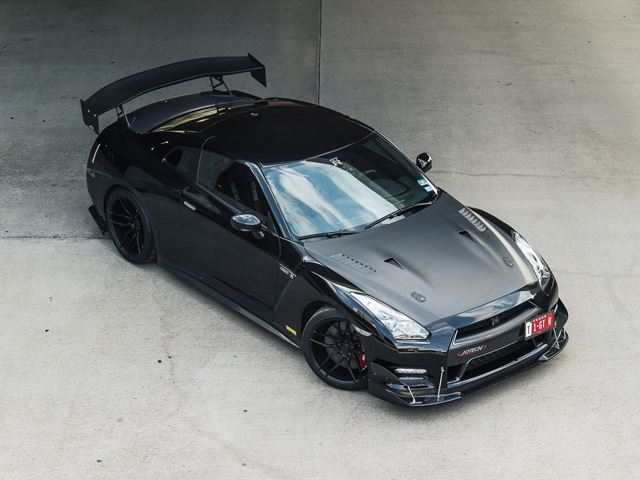 Would You Have the Balls to Drive this 1,200-HP Nissan GT-R?