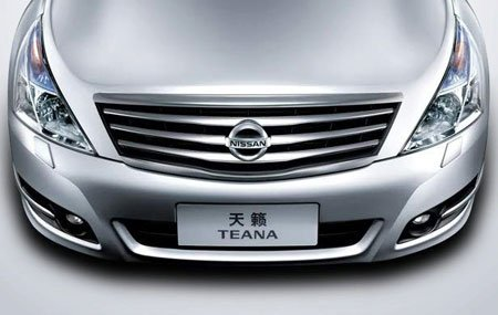 The flagship car model Teana with sales of 140 842 units in China