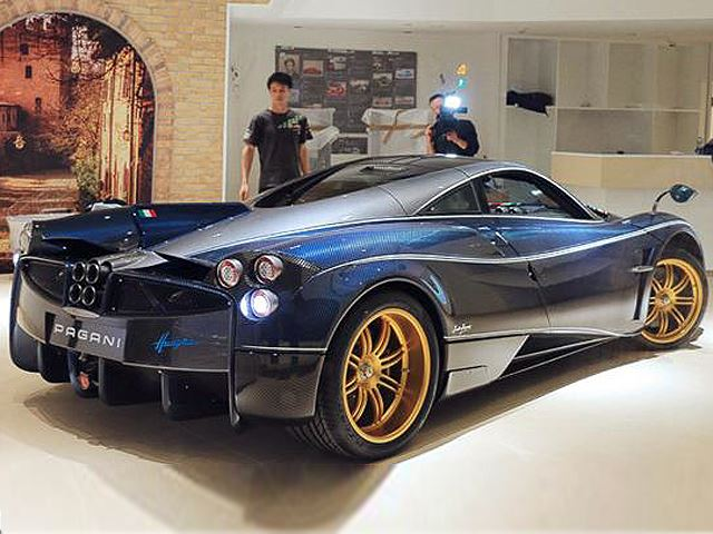 Limited Edition Pagani Officially Unveiled at Exclusive Shanghai Event