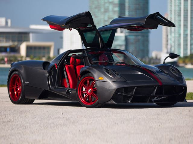 This Stunning Pagani Huayra Is the Ultimate Tribute to a Car Guy Father