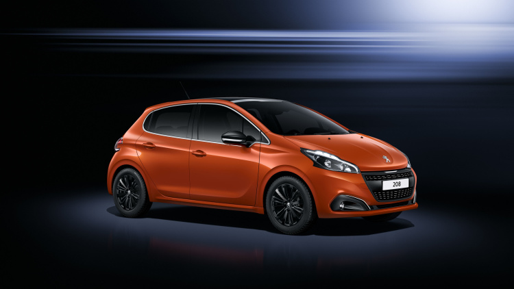 Refreshed Peugeot 208