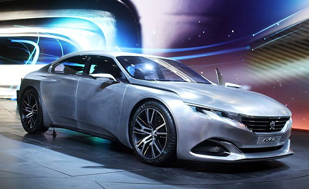 Peugeot Exalt Concept Wears a Revised Look for its Home Crowd