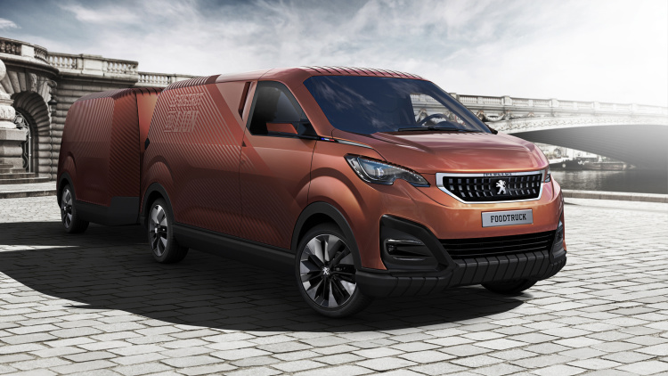 Peugeot Showcases Chic Bistro du Lion Food Truck