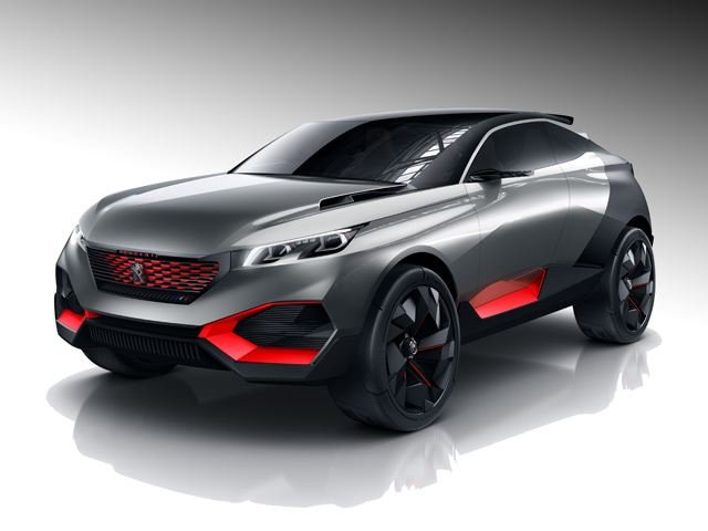 Peugeot Bringing 500-HP SUV Concept to Paris