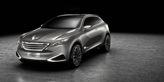 Peugeot reveals SXC crossover concept for Shanghai