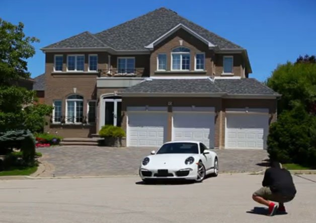Creepy or Clever Marketing? Porsche Dealer Puts Your House in Direct Marketing Material