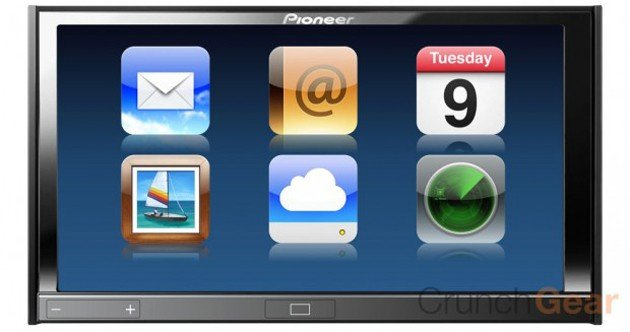 Pioneer developing iPhone-like multitouch head-unit