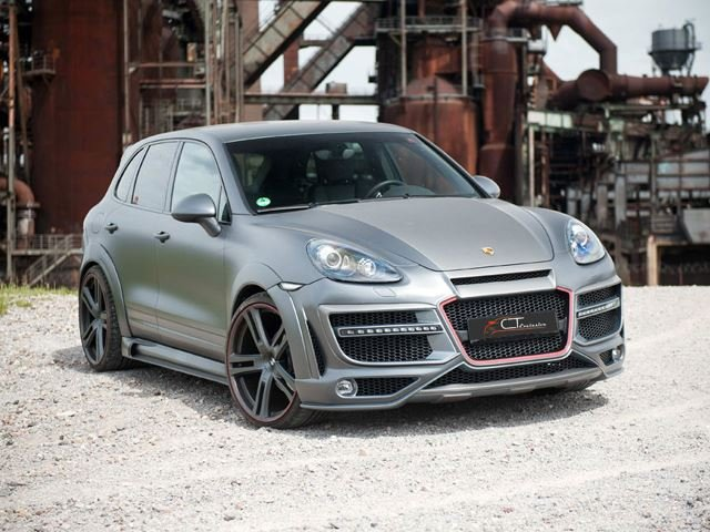 CT Exclusive Dresses the Porsche Cayenne to Kill