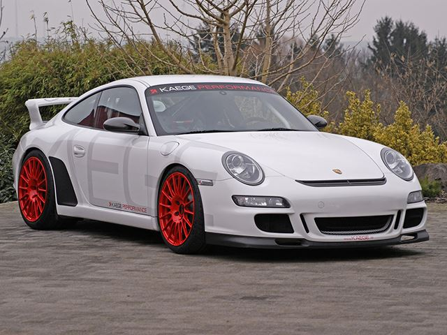 Kaege Makes The 911 GT3 More of a Track Monster With New Tuning Package