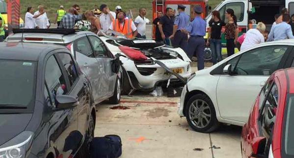 Porsche Malta Motor Show Crash: Supercar Ploughs into Crowd at Charity Event Leaving Dozens Injured