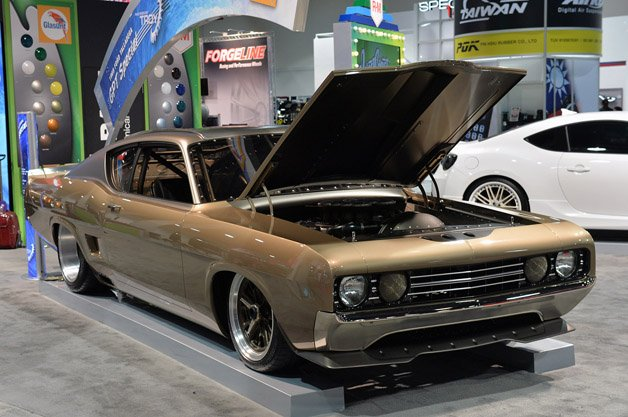 1969 Ford Talladega GPT Special is a SEMA Showstopper