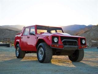 Now Is Your Chance to Buy this Lamborghini LM002 Before the New Lambo SUV Hits the Streets
