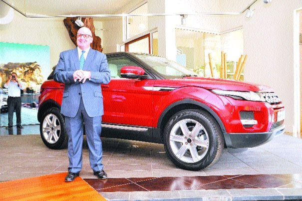 Launch of the Range Rover Evoque