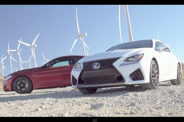 BMW M4 vs. Lexus RC F in Head 2 Head Sports Coupe Showdown