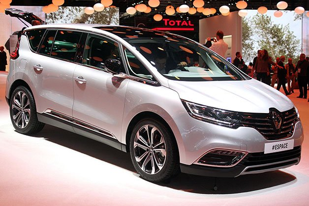 Renault Espace Is the Minivan that Isn't