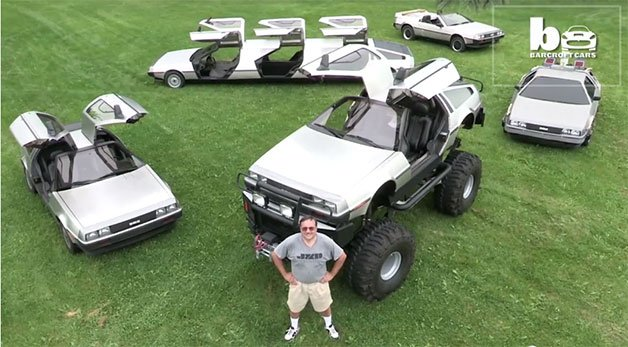 This Man Has Gullwinged Delusions of DeLorean Grandeur
