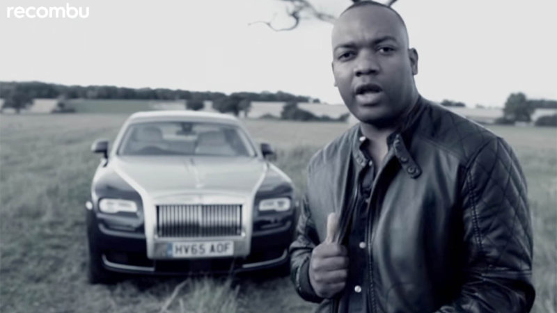Watch the Other New Top Gear Host Rap About a Rolls-Royce
