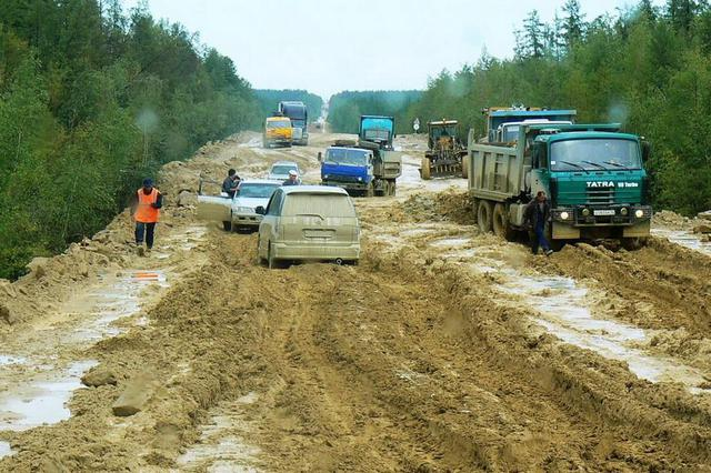 Road to Hell - Road in Russia