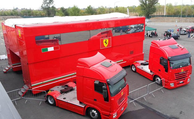 Buy Ferrari's F1 Motorhomes and Start Your Own Scuderia