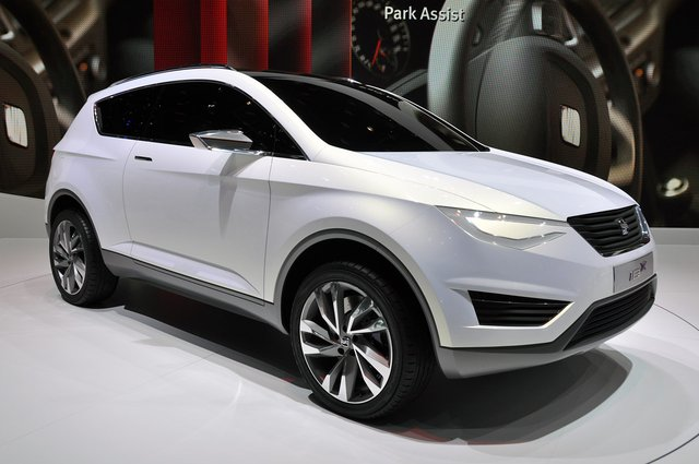 Seat to build IBX crossover based on Audi Q3