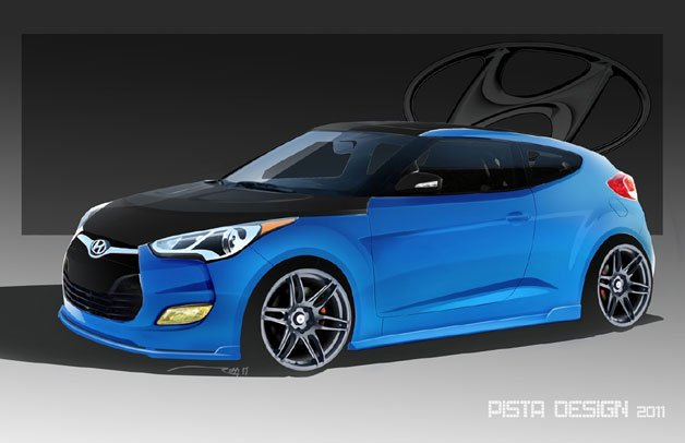 Hyundai, PM Lifestyle collaborate for SEMA-fied Veloster