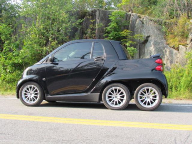 Is this Custom Smart Fortwo Pickup the Coolest 6X6 Around?