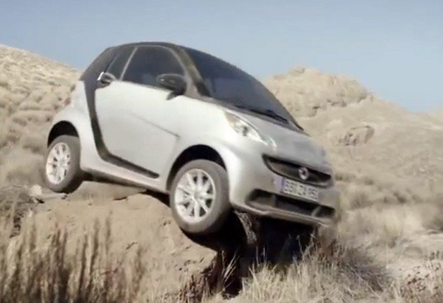 Smart Fortwo's Off-Road Chops on Display in Amusing Ad From Cannes