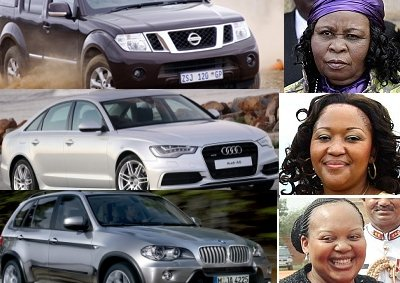 South Africa's first ladies cars
