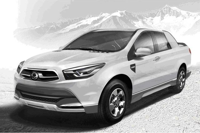 SsangYong will show SUT 1 Concept at Geneva