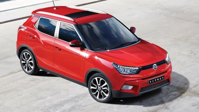 SsangYong Rolls Out All-New Tivoli Crossover