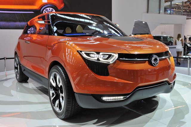 SsangYong XIV-1 Concept shows brand still has a CUV pulse