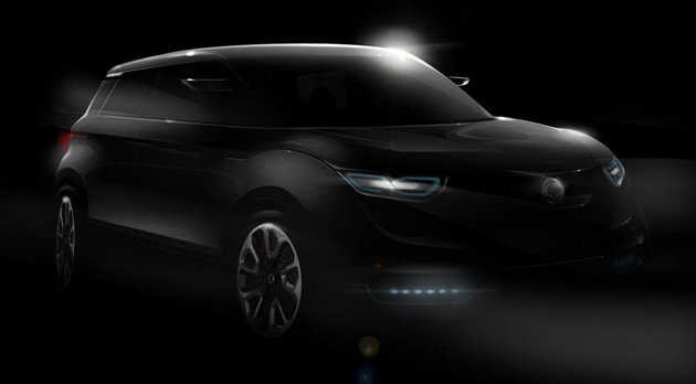 SsangYong previews Concept XUV 1 ahead of Frankfurt debut