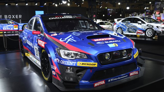 Subaru Shows Racing Versions of STI and BRZ