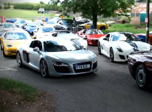 England presents the world's most exciting traffic jam