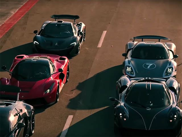 The Full Cut Of The INSANELY Awesome 'Hyper 5' Hypercar Shootout Is Here