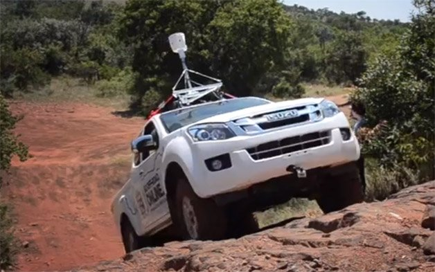 Isuzu Trail View is Google Street View for Off Road