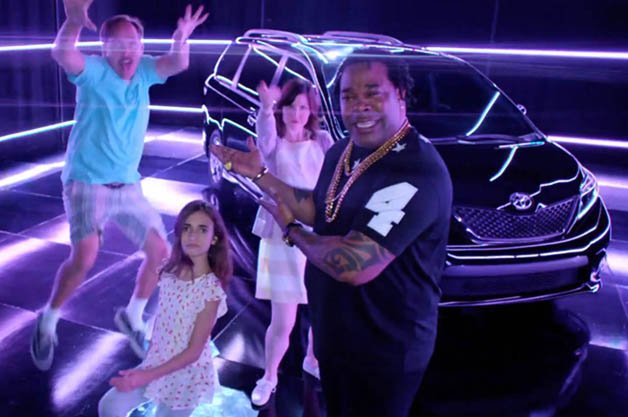 Toyota Sienna Swagger Wagon Rides Again with Busta Rhymes