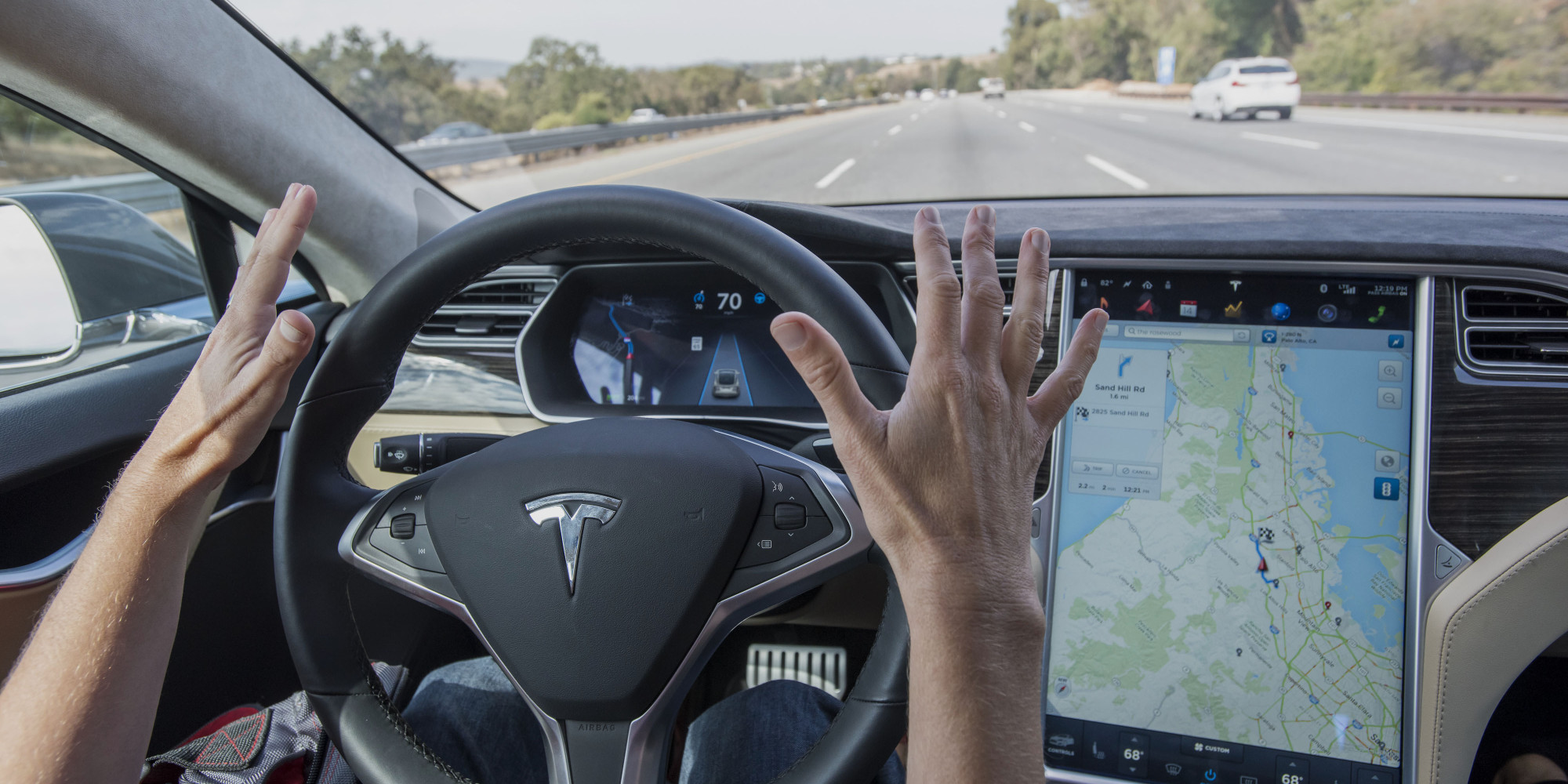 Another Tesla driver has crashed while (maybe) using Autopilot