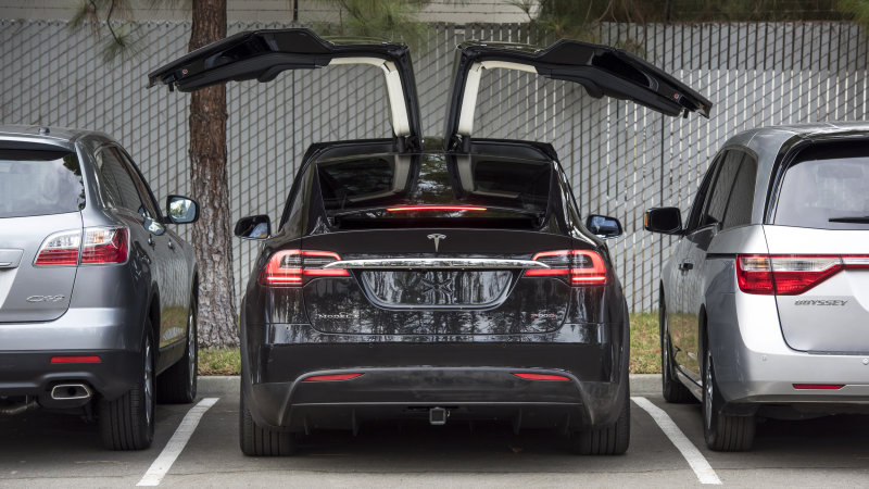 Tesla Is Finally Ramping up Model X Production