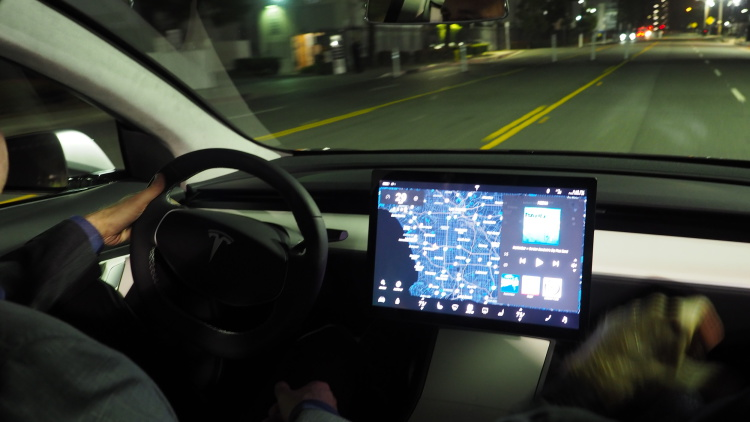 Tesla Reportedly Taps LG To Make The Model 3's Giant Display