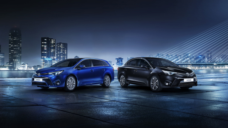 Toyota Bringing Updated Avensis to Geneva