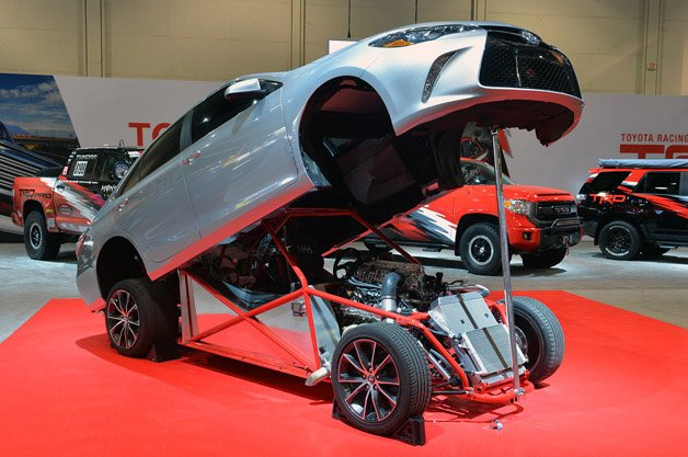 Toyota Camry Dragster Takes the Phrase 'Sleeper' to Its Logical Extreme