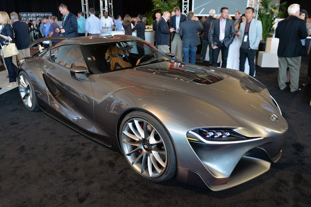 Toyota Reveals New Versions of FT-1 Concept at Pebble Beach