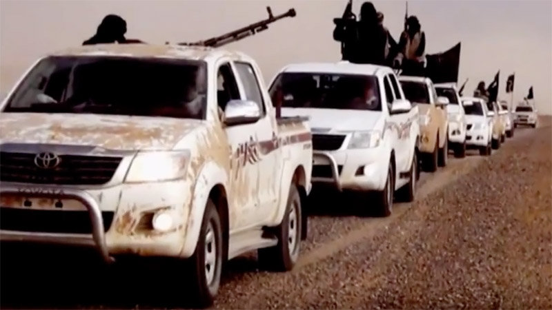 US Inquires Why ISIS Has So Many Toyota Trucks