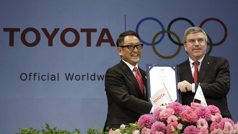 Toyota Inks Deal as Global Olympic Sponsor