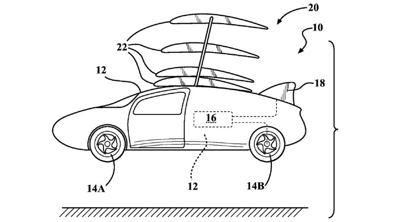 Toyota Patent Points to Potential Flying Car