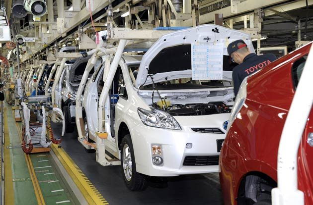 Toyota to resume production at half-speed across Japan on April 18